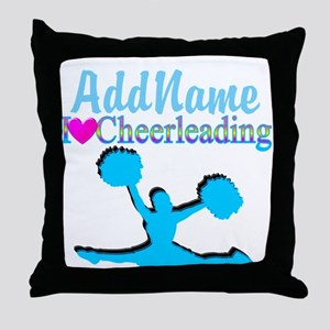 CHEER TO WIN Throw Pillow