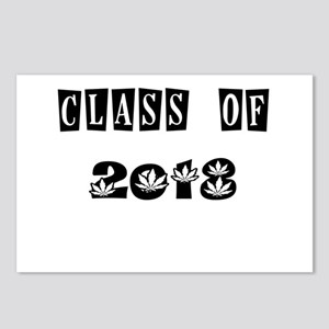 CLASS OF 2018 MARIJUANA Postcards (Package of 8)