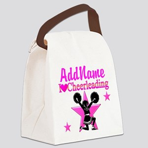 CHEERING TEAM Canvas Lunch Bag