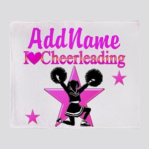 CHEERING TEAM Throw Blanket