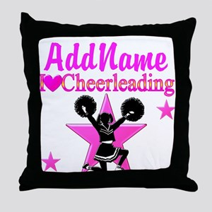 CHEERING TEAM Throw Pillow