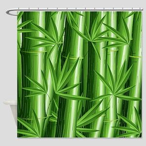 Fresh Zen Bamboo Shower Curtain