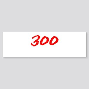 300 Spartans Sparta Bumper Sticker