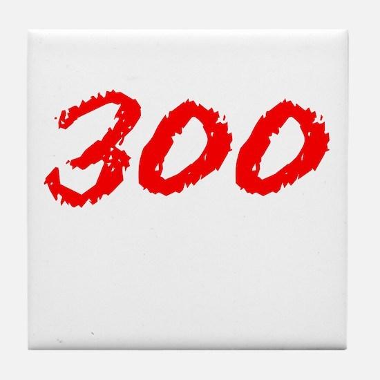 300 Spartans Sparta Tile Coaster