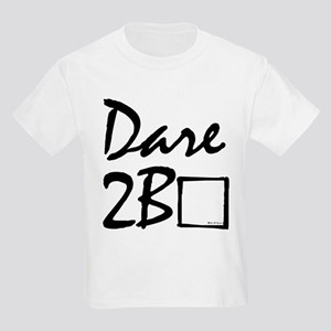 Dare to be square! Kids T-Shirt