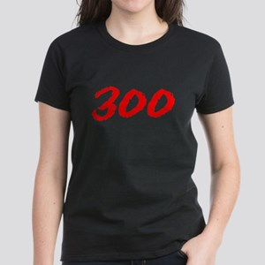 300 Spartans Sparta Women's Black T-Shirt