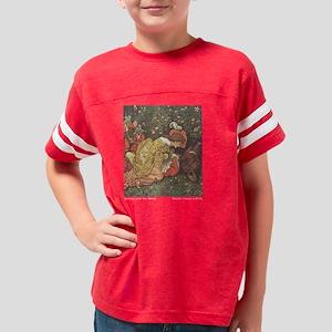 crane_beautybeast_blackshirt Youth Football Shirt