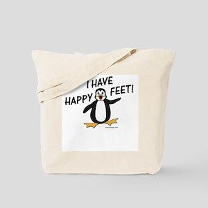 Happy Feet Penguin Tote Bag