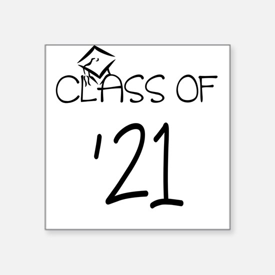 class of 21 Sticker