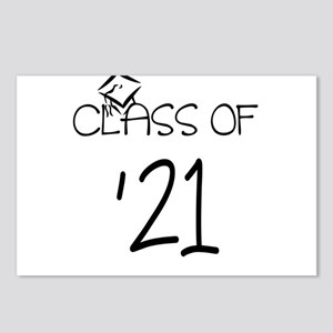 class of 21 Postcards (Package of 8)
