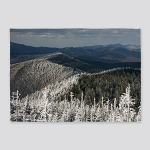 Great Smoky Mountain National Park 5'x7'Area Rug