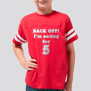 eatingfor52 Youth Football Shirt