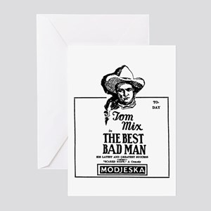 Tom Mix Greeting Cards (Pk of 10)