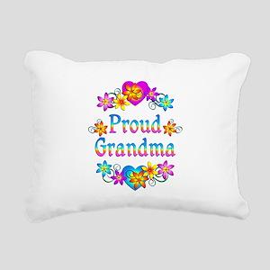Proud Grandma Rectangular Canvas Pillow