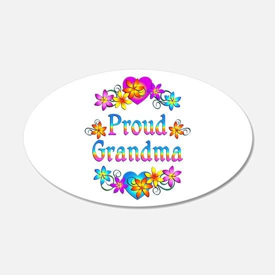 Proud Grandma Wall Sticker