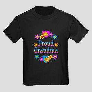 Proud Grandma Kids Dark T-Shirt