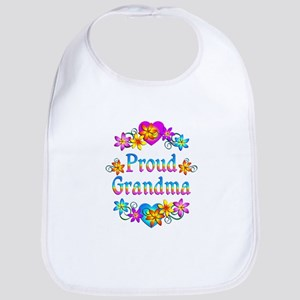 Proud Grandma Bib
