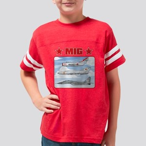 migtarget_front Youth Football Shirt