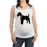 Fox Terrier Maternity Tank Top