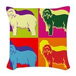 SHEEP-DOG Woven Throw Pillow