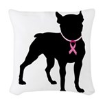 Boxer personalized i bark for a cure for breast ca