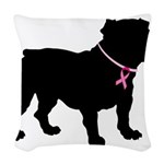 Bulldog personalized i bark for a cure for breast