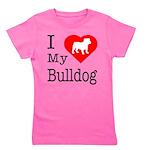 Bulldog Girl's Tee