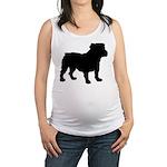 Bulldog Maternity Tank Top