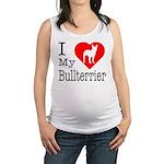 Bullterrier Maternity Tank Top