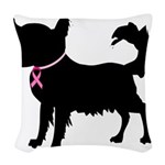 Chihuhua Woven Throw Pillow