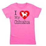 Chihuahua Girl's Tee