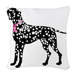 Dalmatian Woven Throw Pillow