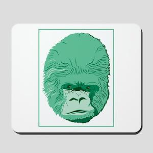 Green Gorilla Mousepad