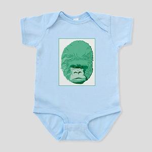 Green Gorilla Infant Bodysuit