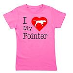 Pointer Girl's Tee