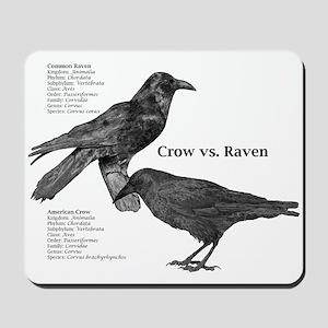 Crow vs. Raven - Mousepad