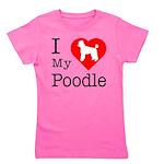 Poodle Girl's Tee