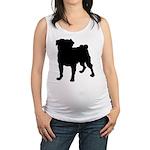 pug Maternity Tank Top