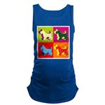 SCOTTISH-TERRIER Maternity Tank Top