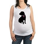 shar pei 2 Maternity Tank Top