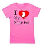 Shar-Pei Girl's Tee