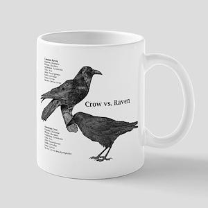 Crow vs. Raven - Mug