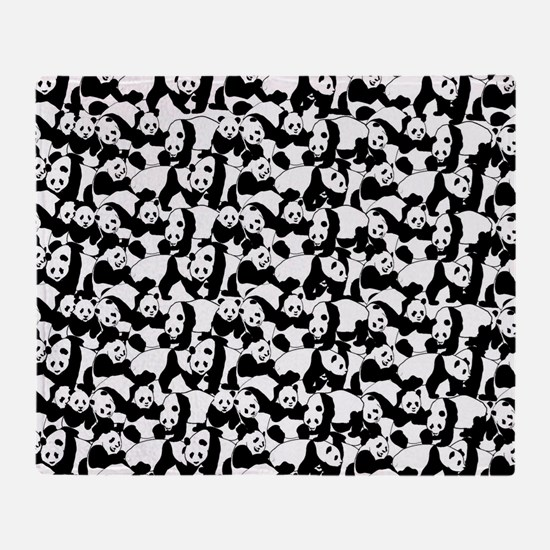 Unique Panda Throw Blanket