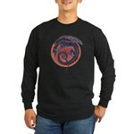 Black Dragon Long Sleeve Dark T-Shirt
