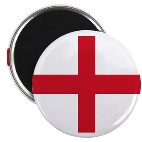 "St George Cross England flag 2.25"" Magnet (10 pac"