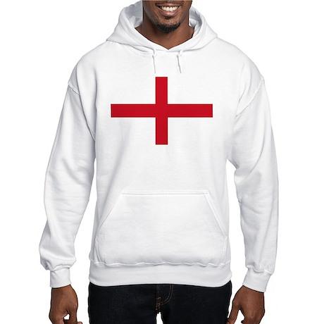 Saint George Cross flagwear Hooded Sweatshirt