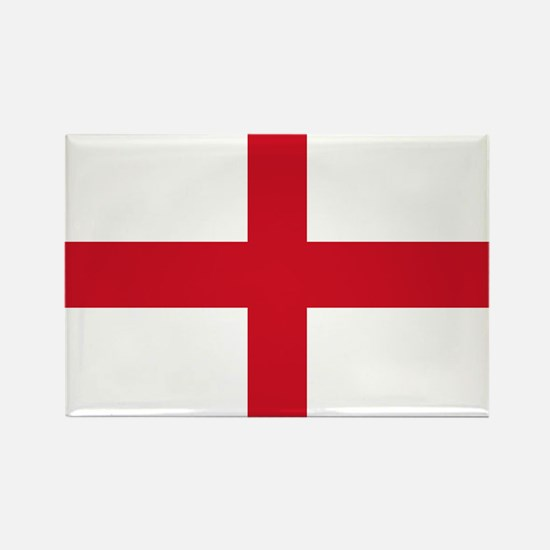 St George Cross England flag Rectangle Magnet