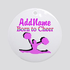 TOP CHEERLEADER Ornament (Round)