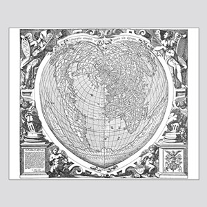 World Map 1566 Posters