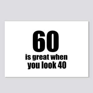 60 Is Great Birthday Desi Postcards (Package of 8)